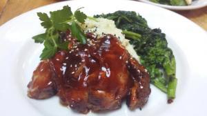 char sui pork ribs, wasabi mash